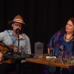 Our guests for episode #200 - Barb Abney and Jeremy Messersmith Photo by Bob Alberti